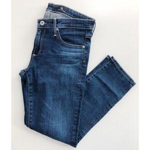 NWOT AG Stilt Crop Cigarette Jeans